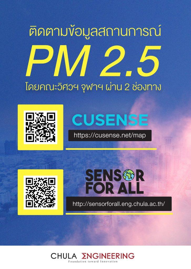 ติดตามข้อมูลสถานการณ์ pm 2.5